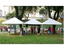 quanto custa tendas para alugar em Pinheiros