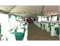 quanto custa tendas para festa de casamento em Higienópolis