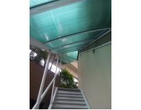 quanto custa toldos e coberturas para escadas em Itapevi