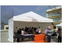 serviços de aluguel de tendas na Picanço
