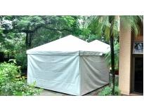 tenda piramidal fechada Bosque Maia Guarulhos