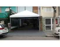 tendas para alugar serviços em Barueri