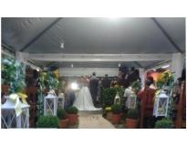 tendas para festa de casamento serviços na Lavras