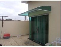 toldo de policarbonato para janelas no Sacomã