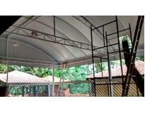 toldo e coberturas para estacionamento em Embu das Artes