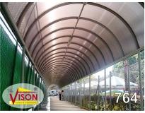 toldo túnel serviços em Suzano