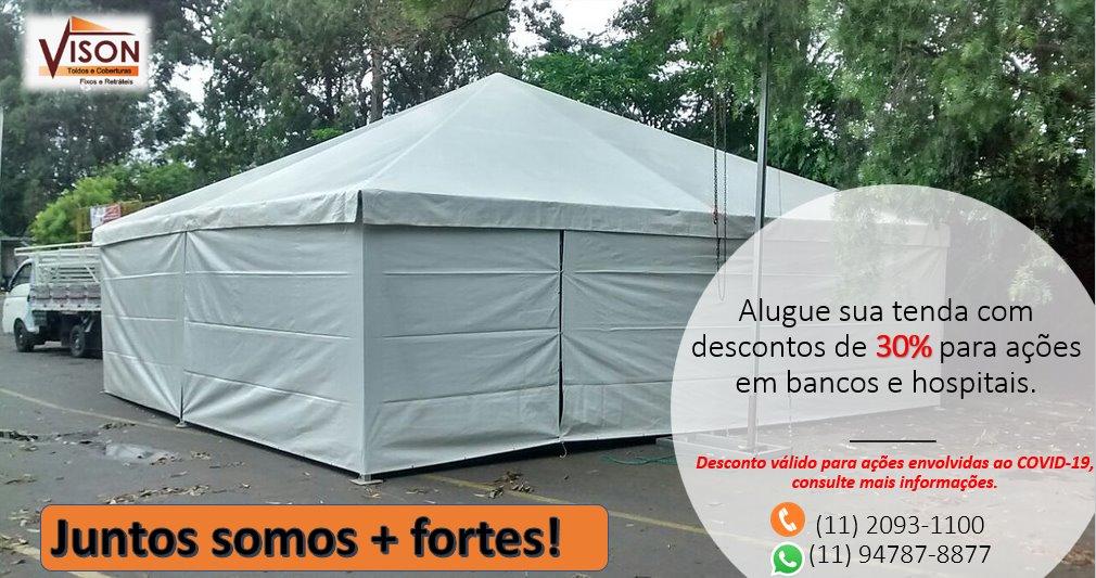 Vison Tendas e Toldos - Tendas para Eventos